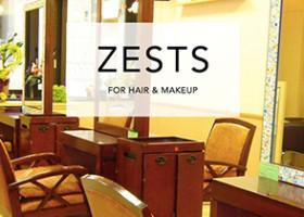 大阪心斎橋の美容室 ZESTS様のホームページを制作しました!